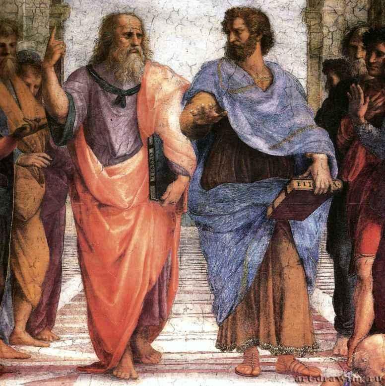 Картинки по запросу фреска афинская школа картинки